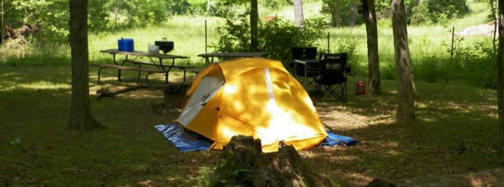 the outback tent site