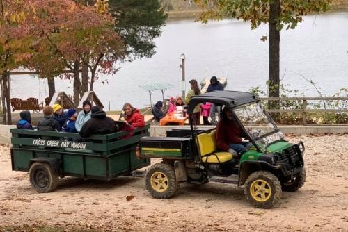 Cross Creek hay Wagon